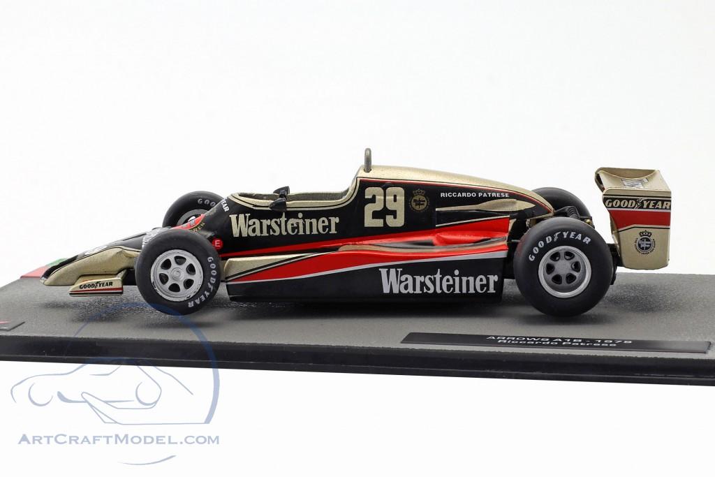 Riccardo Patrese Arrows A1B #29 Formel 1 1979