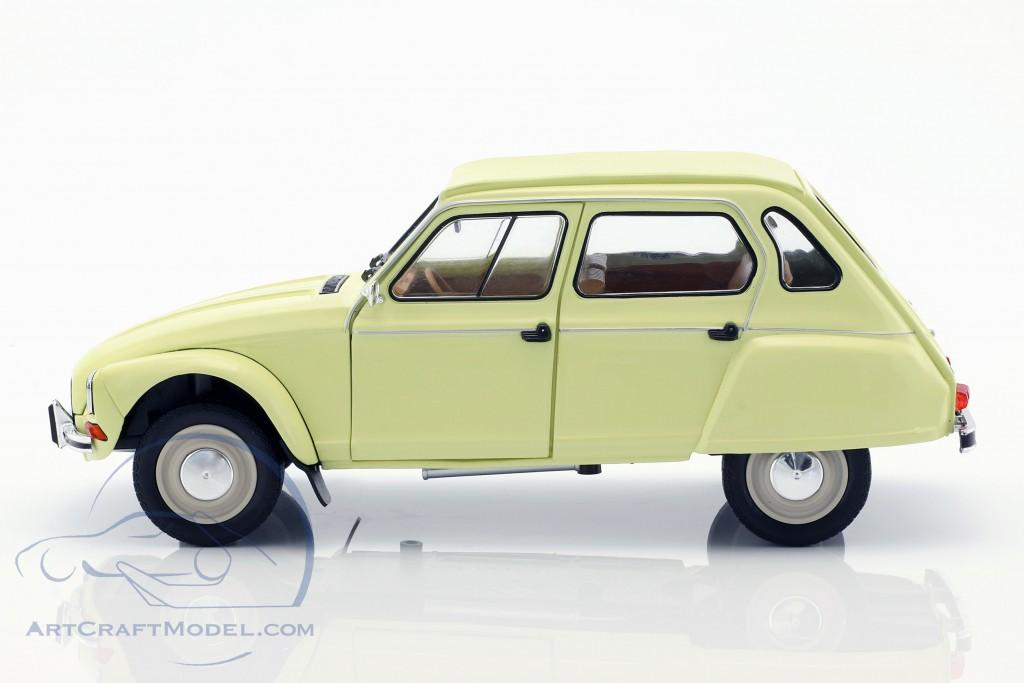 Citroen Dyane 6 Baujahr 1967 gelb