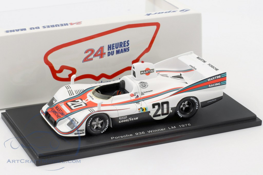 Porsche 936 #20 Winner 24h LeMans 1976 Ickx, Lennep