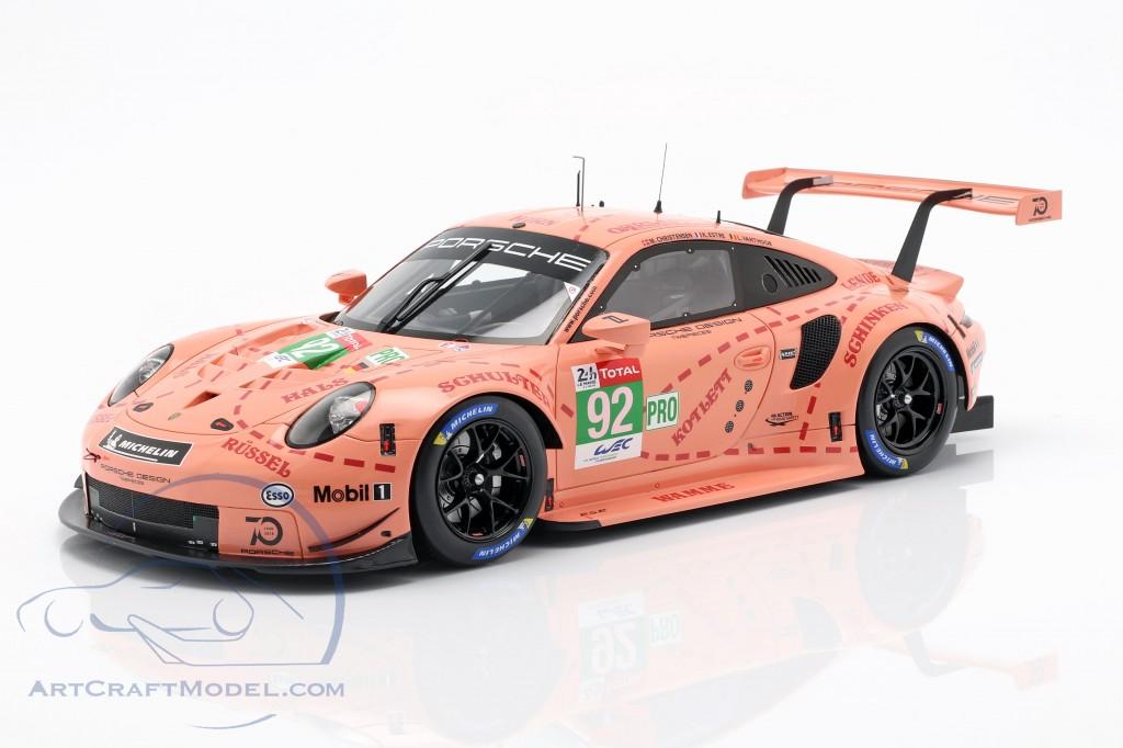 Porsche 911 (991) RSR #92 Class Winner LMGTE-Pro 24h LeMans 2018
