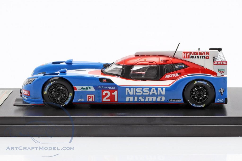Nissan GT-R LM Nismo #21 24h LeMans 2015 Matsuda, Ordonez, Shulzhitskiy