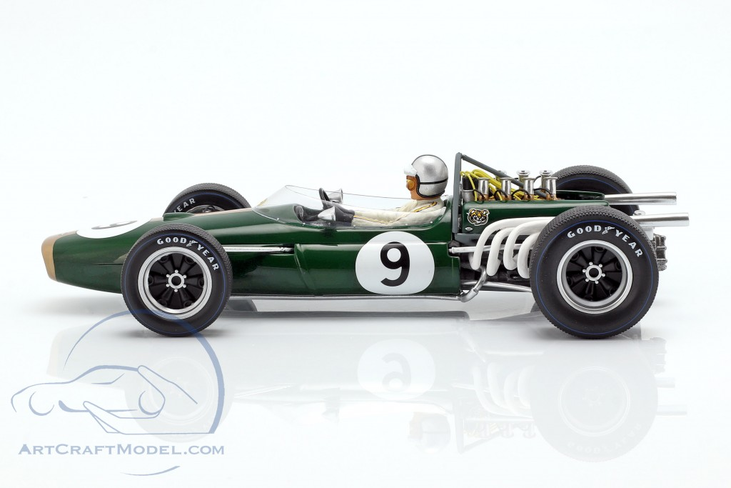 Denis Hulme Brabham BT20 #9 Winner Monaco GP World Champion F1 1967