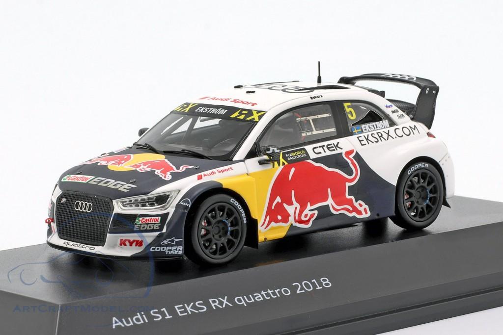 Audi S1 EKS RX quattro #5 WRX 2018 Matthias Ekström