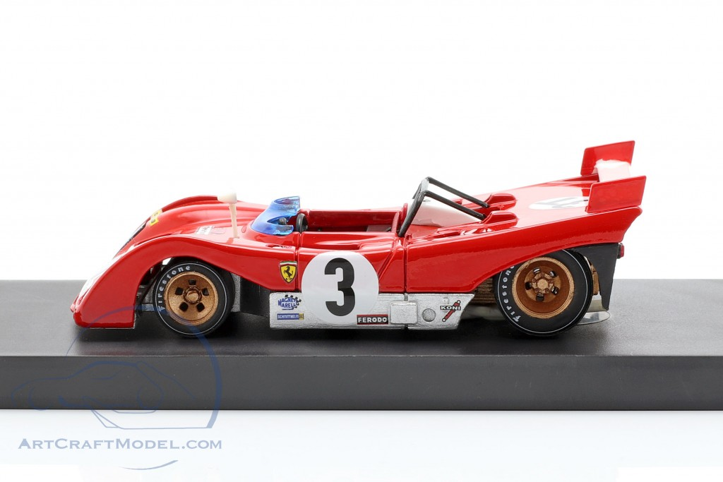 Ferrari 312 pb n.3 winner targa florio 1972 w//a.merzario 1:43 auto competizione