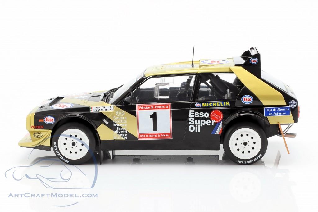 Lancia Delta S4 #1 Winner Rallye de Asturias 1986 Tabaton, Tedeschini