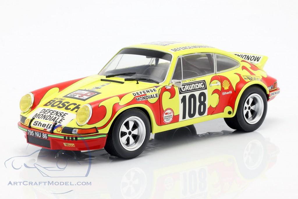 Porsche 911 Carrera RSR #108 Rallye Tour de France 1973 Ballot-Lena, Morenas