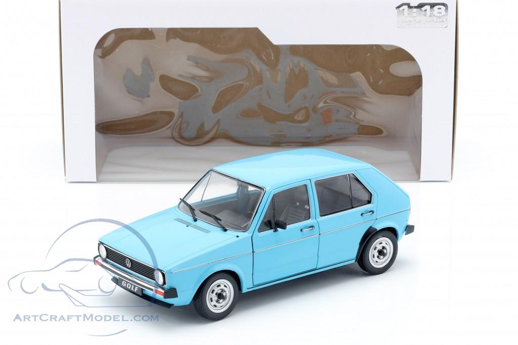 Volkswagen VW Golf I year 1983 Light Blue