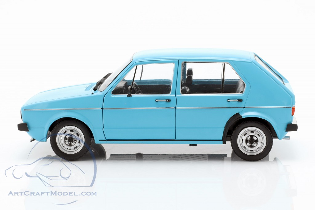 Volkswagen VW Golf I year 1983 Light Blue