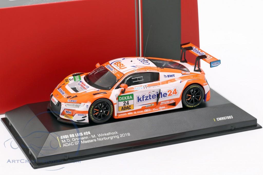 Audi R8 LMS #24 ADAC GT Masters Nürburgring 2018 Ortmann, Winkelhock