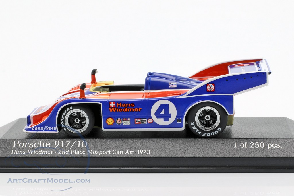 1:18 Minichamps Porsche 917//10 #4 Can-Am Hans wiedmer 1973