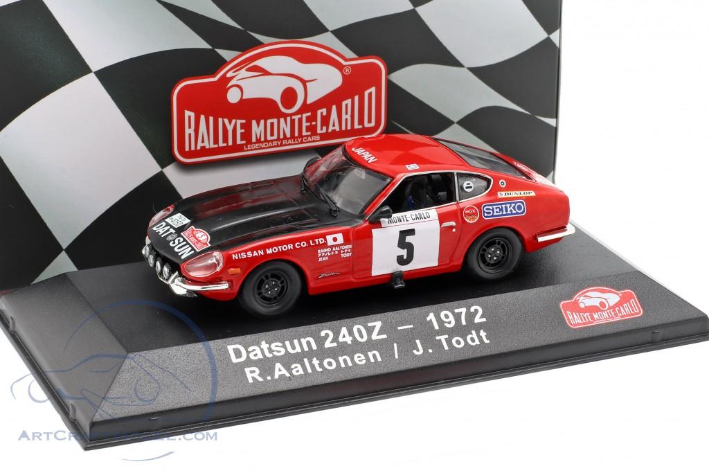 Todt 1:43 Atlas Datsun 240Z #5 3rd Rallye Monte Carlo 1972 Aaltonen