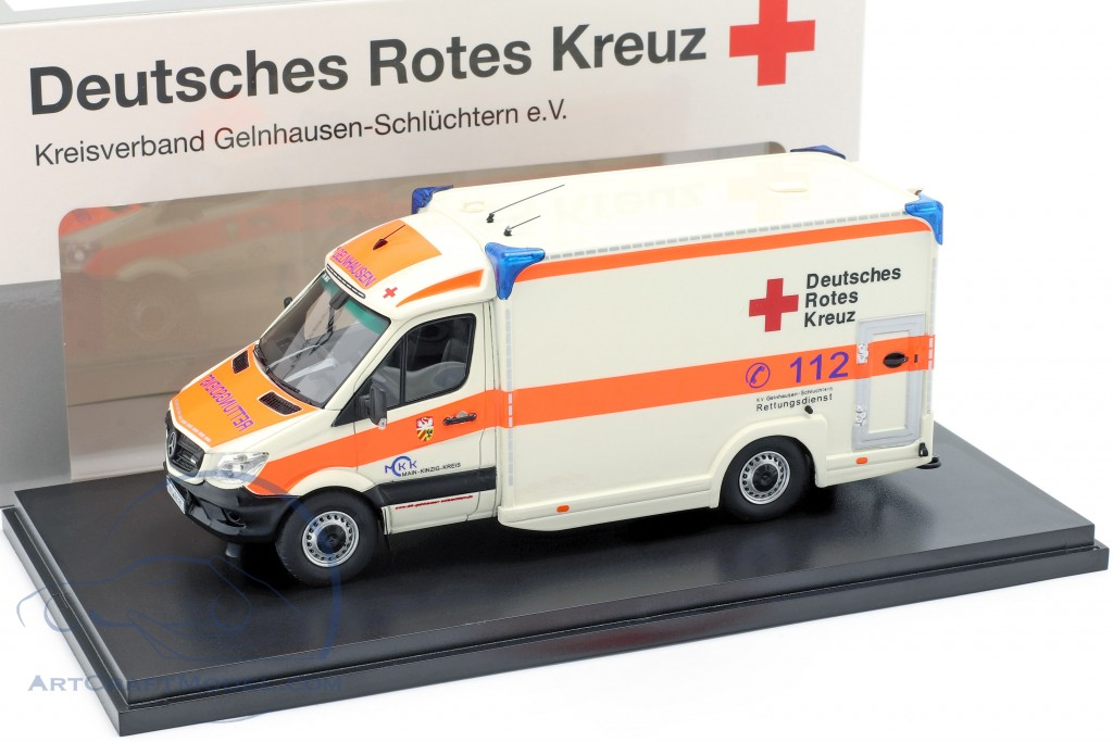 Mercedes-Benz Sprinter 319 cdi Miesen year 2018 German red cross