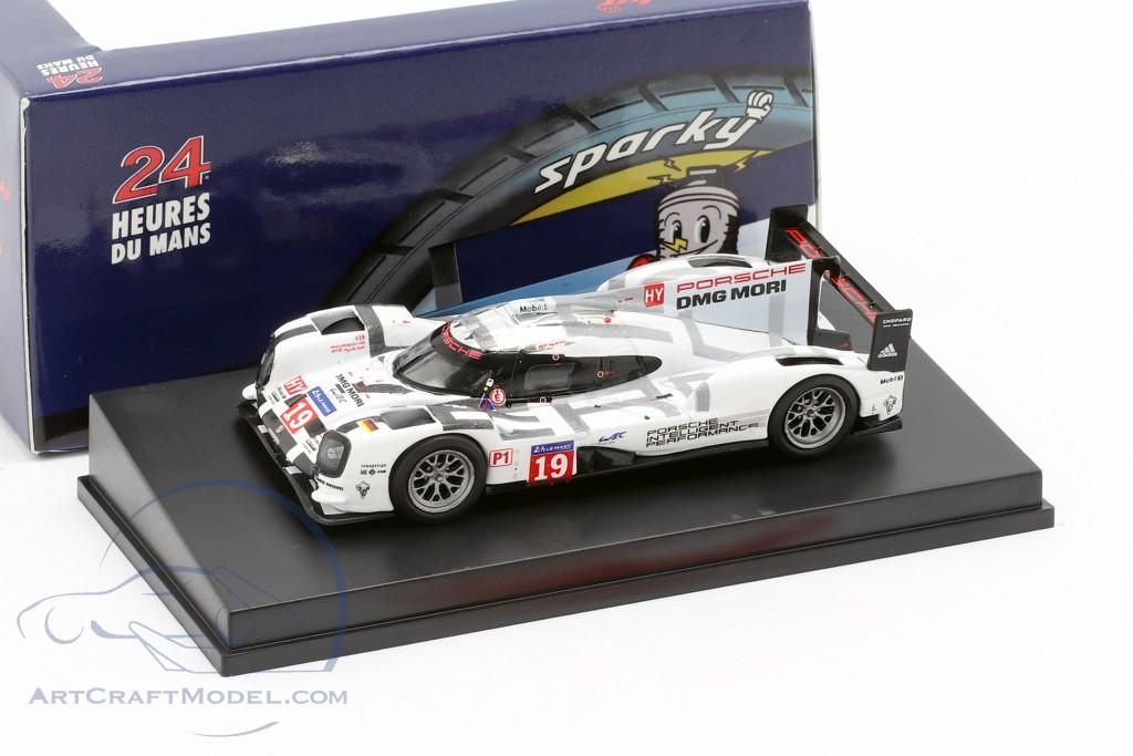 Porsche 919 Hybrid Spark 1:64 Winner 24h LeMans 2015 #19