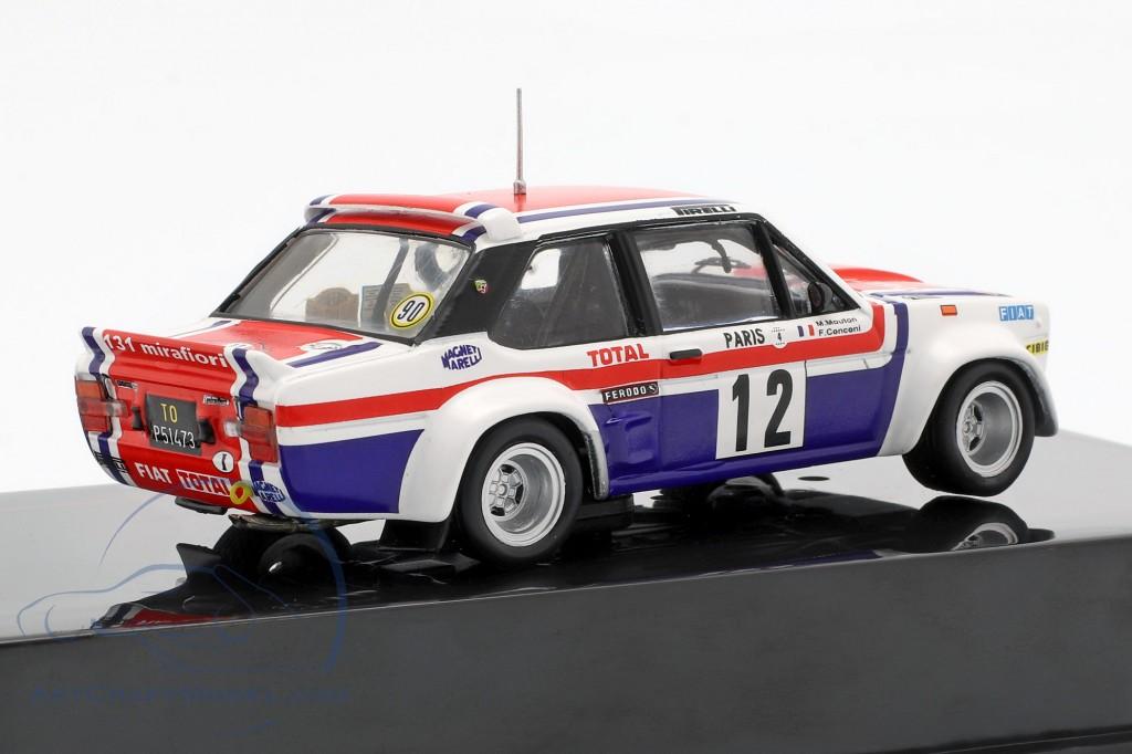 Fiat 131 Abarth #12 7th Rallye Monte Carlo 1979 Mouton, Conconi