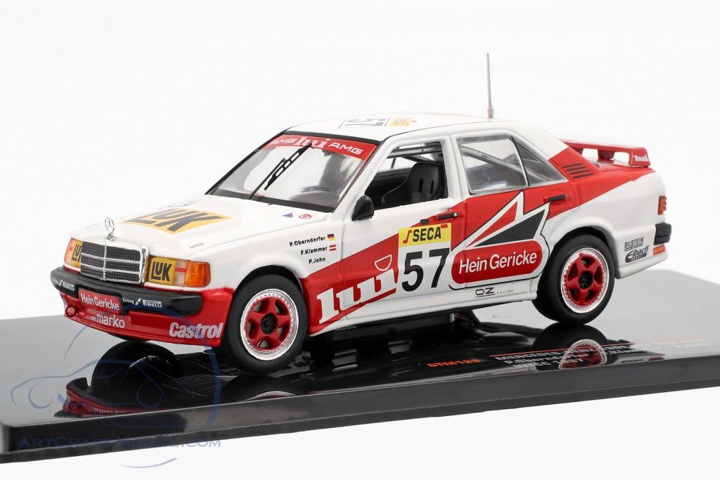 Mercedes-Benz 190E 2.3-16V #57 WTCC 1987 Oberndorfer, Klammer, John