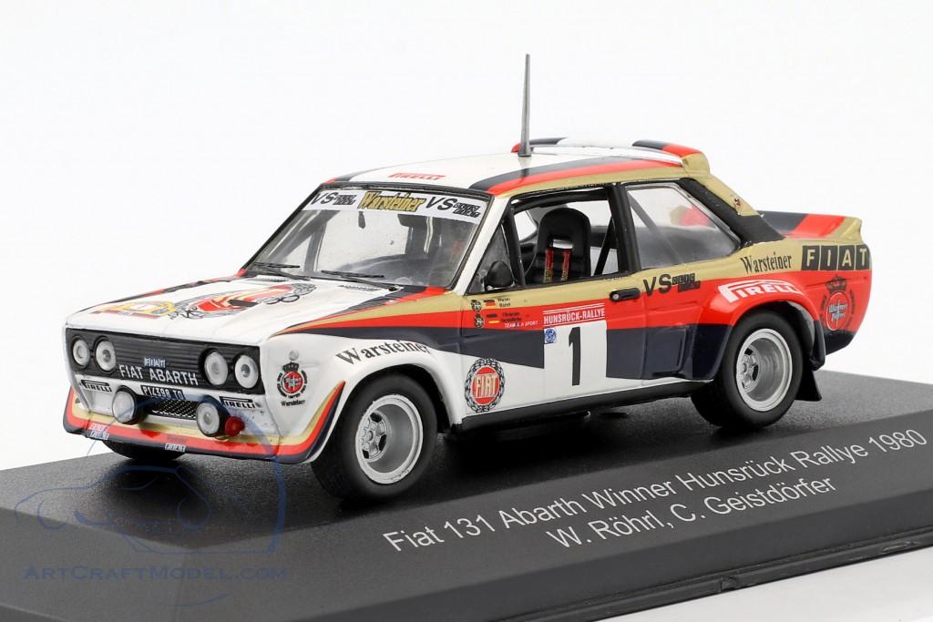 Geistd/örfer 1:43 CMR FIAT 131 Abarth #1 Winner Hunsr/ück Rallye 1980 R/öhrl