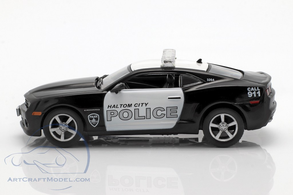 Chevrolet Camaro SS Haltom City policy black / white in Blister