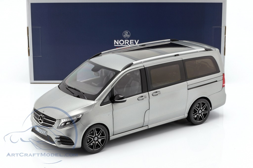 Mercedes Benz V Class Amg Line Year 2018 Grey Metallic