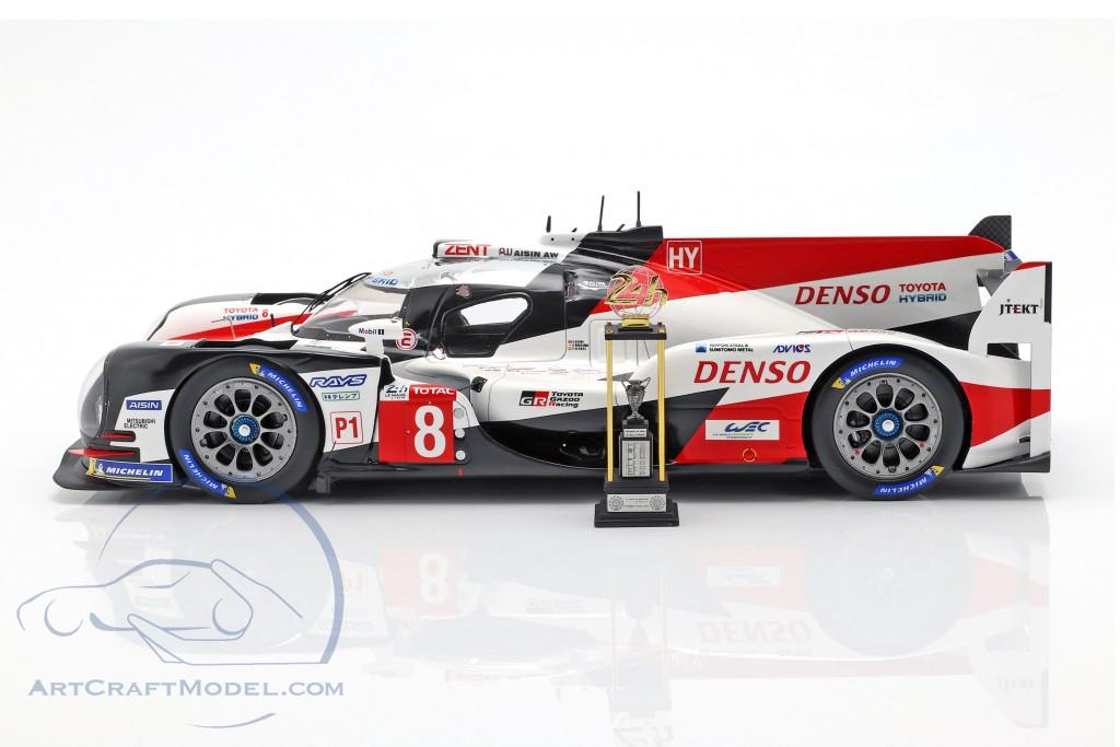 Toyota TS050 Hybrid #8 Winner 24h LeMans 2018 Buemi, Nakajima, Alonso
