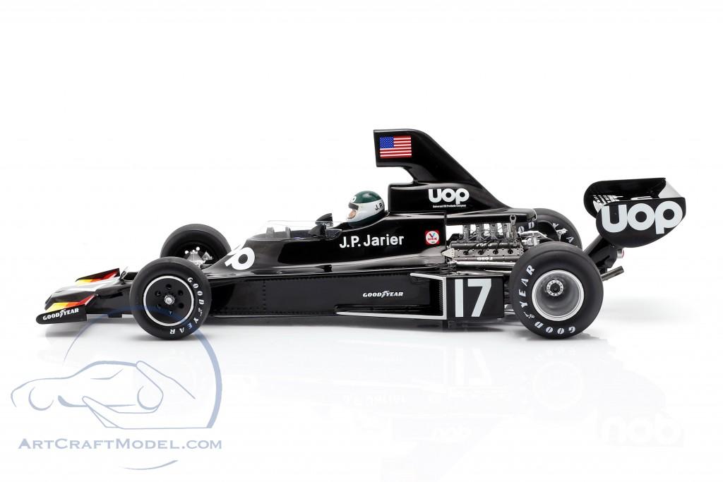 Jean-Pierre Jarier Shadow DN5 #17 Brazilian GP formula 1 1975