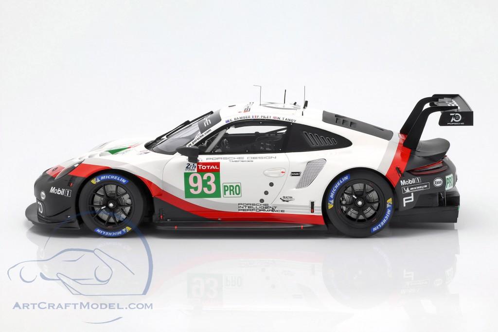 Porsche 911 (991) GT3 RSR #93 24h LeMans 2018 Pilet, Tandy, Bamber