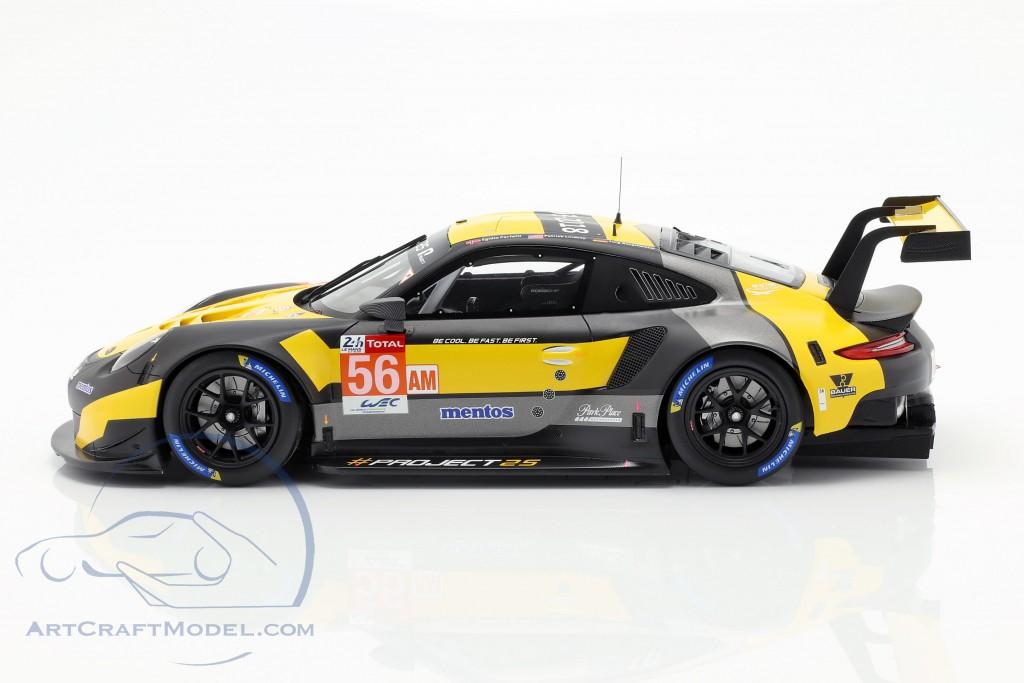 Porsche 911 RSR #56 24h LeMans 2018 Bergmeister, Lindsey, Perfetti