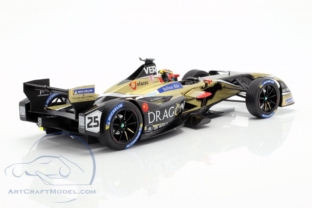 J.-E. Vergne Renault Z.E.17 #25 Winner New York formula E 2017/18