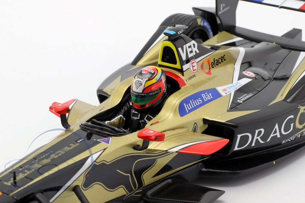 J.-E. Vergne Renault Z.E.17 #25 Winner New York formula E 2017/18