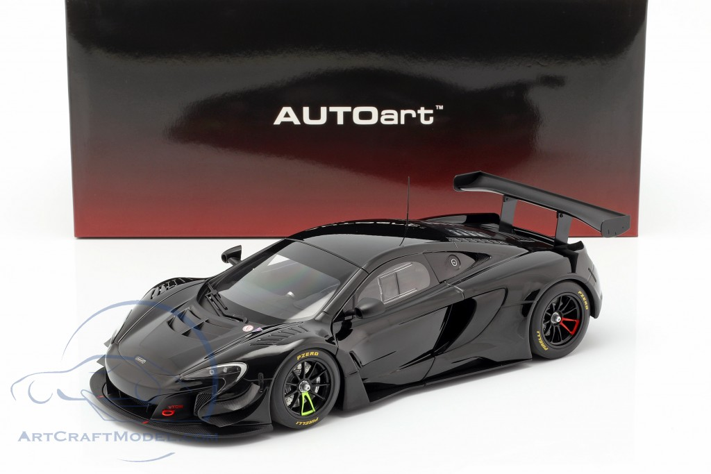 McLaren 650S GT3 year 2017 gloss black