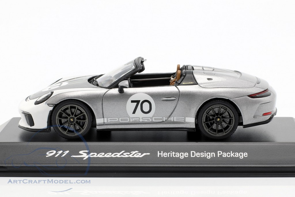 Porsche 911 (991 II) Speedster #70 Heritage Design Package 2019 silver