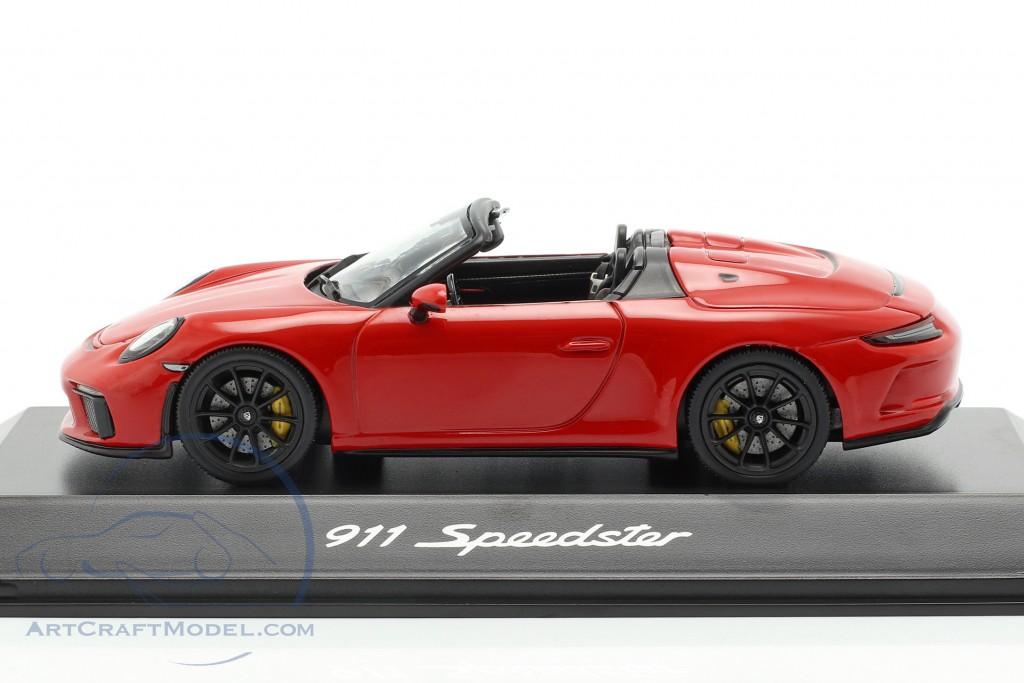 Porsche 911 (991 II) Speedster year 2019 Indian red