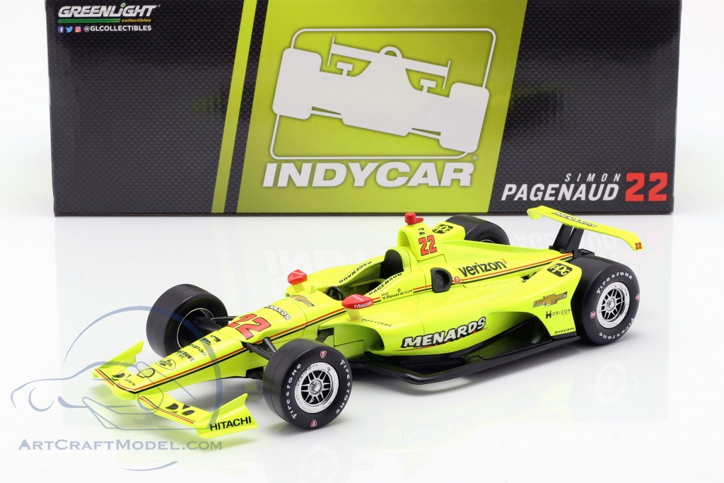 Simon Pagenaud Chevrolet #22 Indycar Series 2019 Team Penske