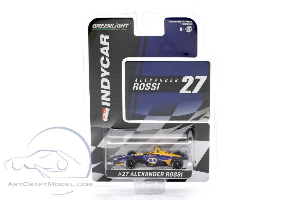 Alexander Rossi Honda #27 Indycar Series 2019 Andretti Autosport
