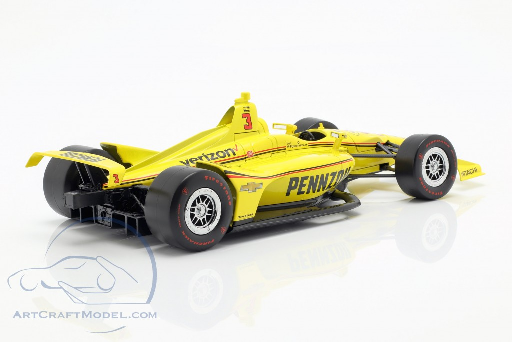 Helio Castroneves Chevrolet #3 Indycar Series 2019 Team Penske