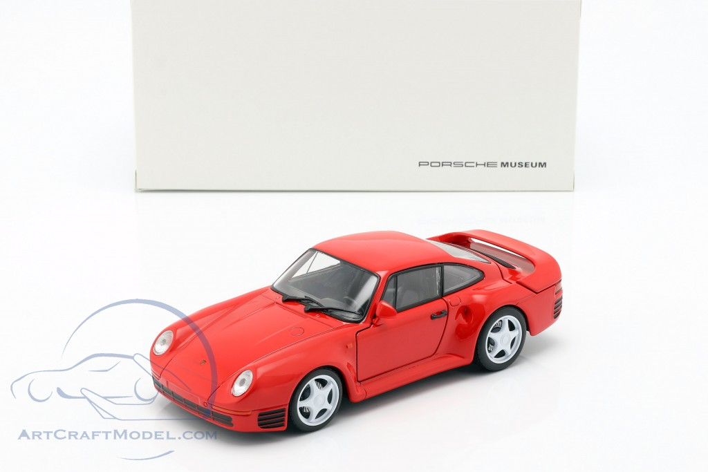 Porsche 959 year 1986-88 guards red