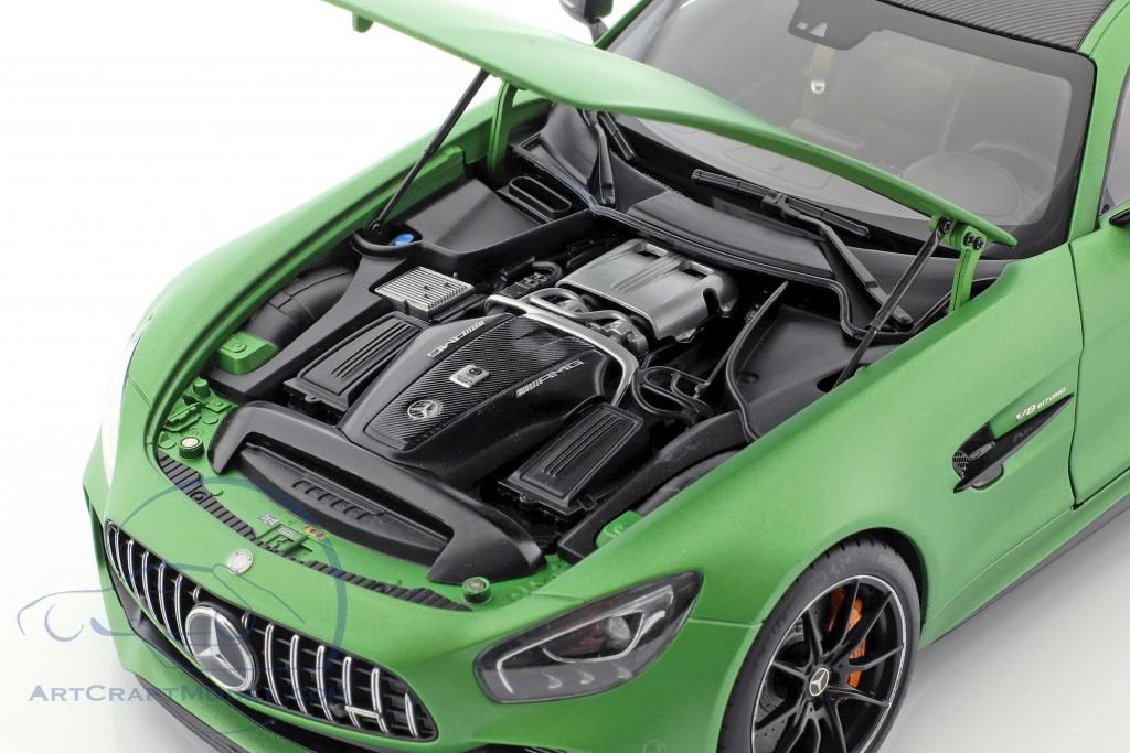 Mercedes-Benz AMG GT R year 2017 mat green metallic