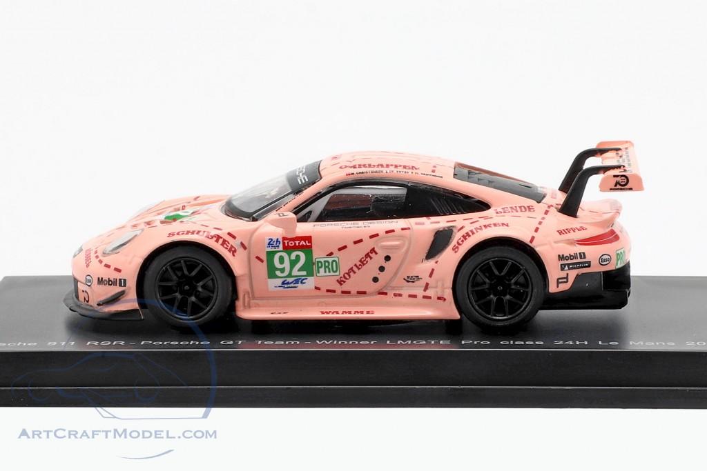 Porsche 911 (991) RSR #92 Winner LMGTE Pro Class 24h LeMans 2018
