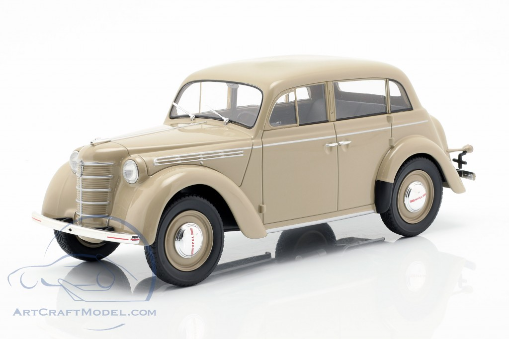 1:18 KK-scale Opel Kadett k38 1938 Black