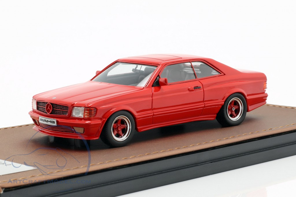Mercedes-Benz AMG C126 6 0 Wide Body year 1984-1985 red GLM
