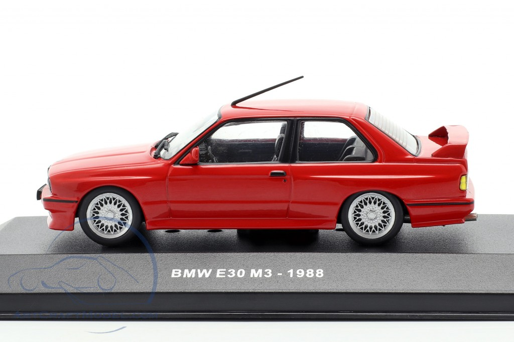 Bmw M3 E30 Year 1988 Red