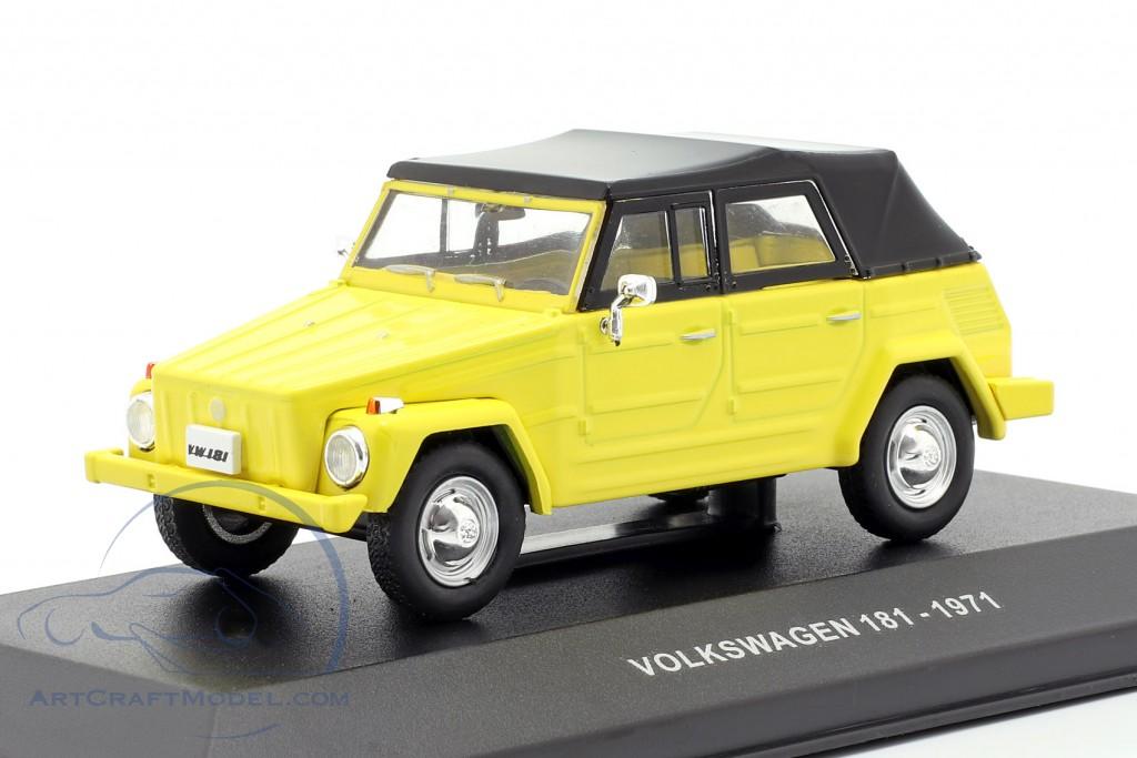 S4305100 SOLIDO Volkswagen 181 1971 Cream White 1//43