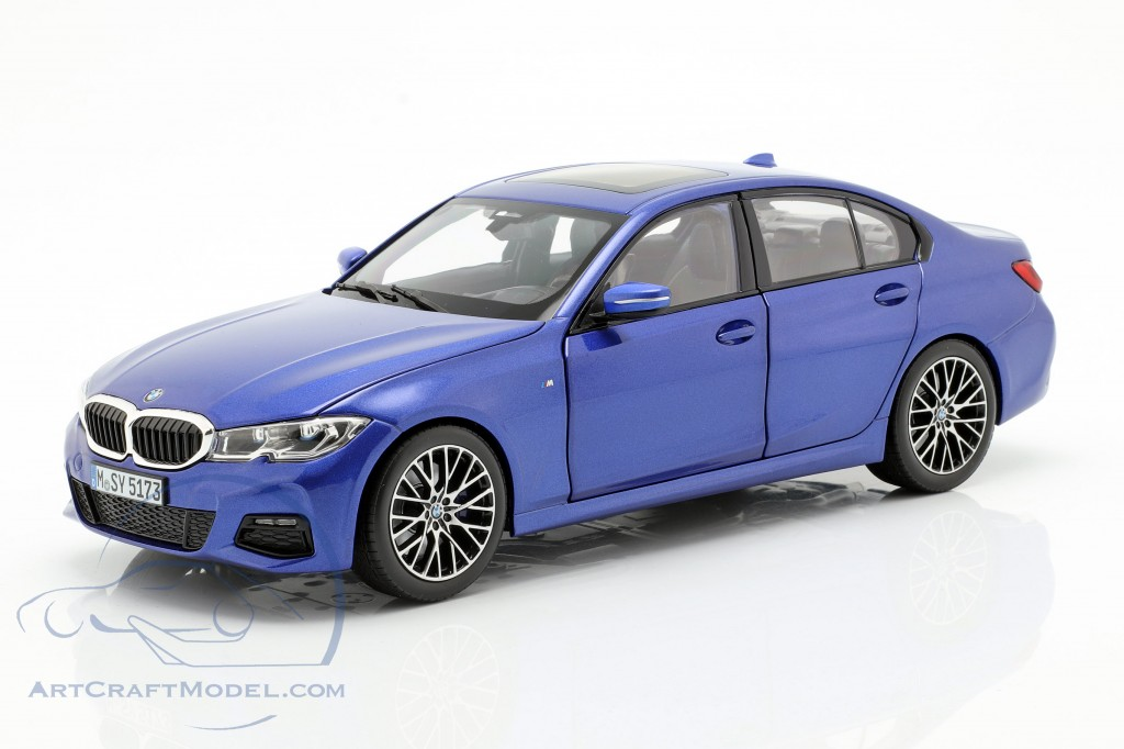 Bmw 3 Series Limousine G20 Year 2019 Portimao Blue Norev