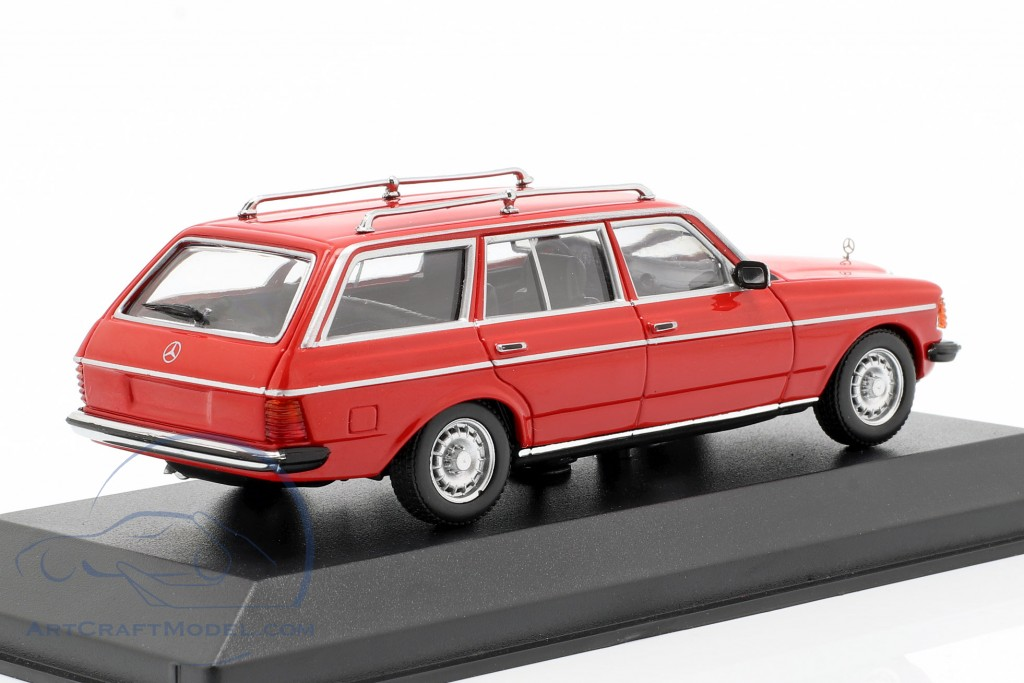 Mercedes-Benz 230 TE (W123) year 1982 red