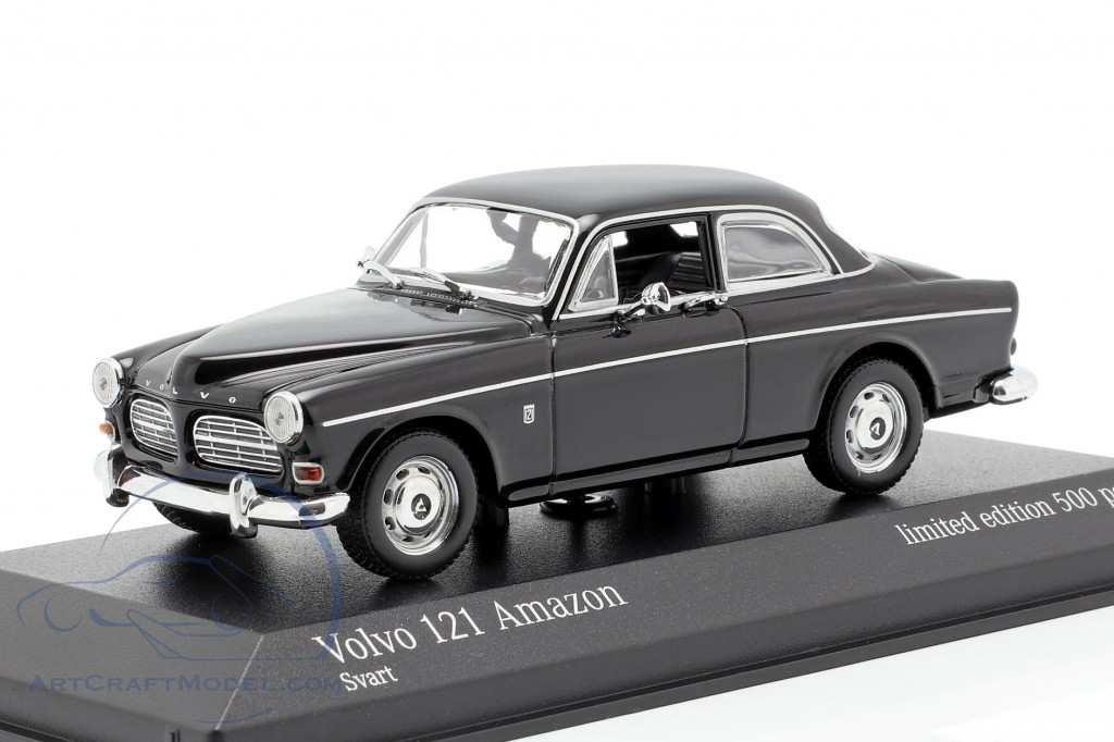 Volvo 121 Amazon year 1966 black