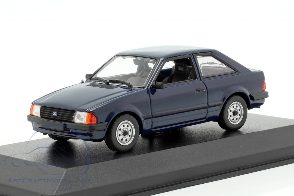 Ford Escort year 1981 dark blue