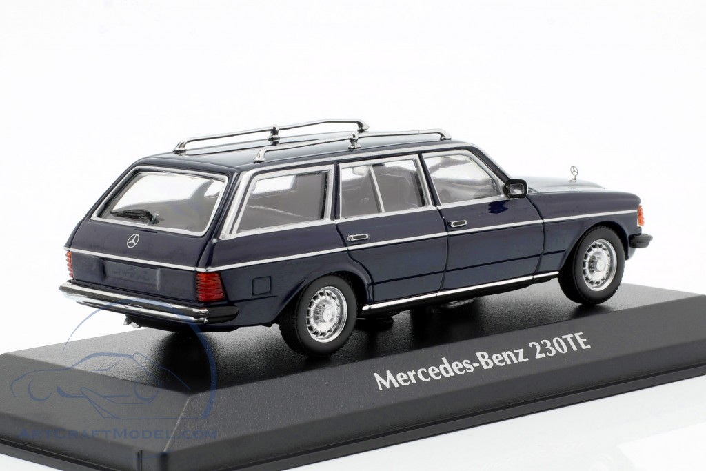 Mercedes-Benz 230 TE (W123) year 1982 blue