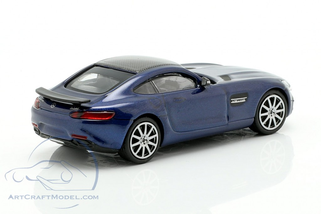 Mercedes-Benz AMG GTS year 2015 dark blue metallic
