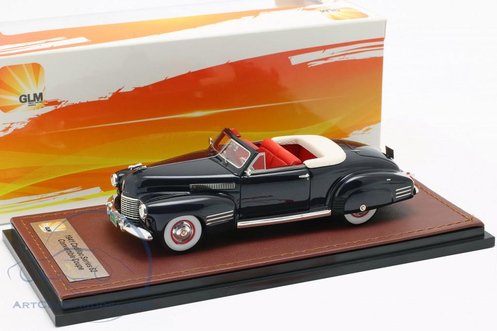 Cadillac Series 62 Convertible Open Top year 1941 dark blue  GLM