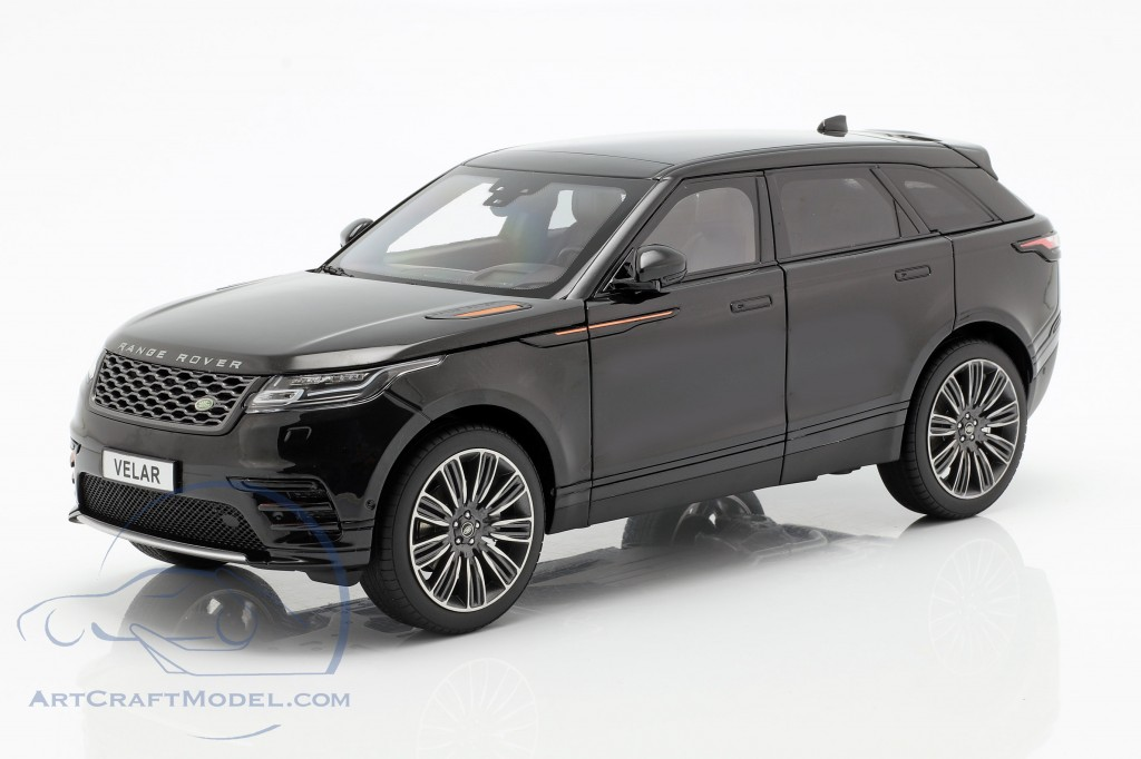 Land Rover Range Rover Velar built in 2018 black