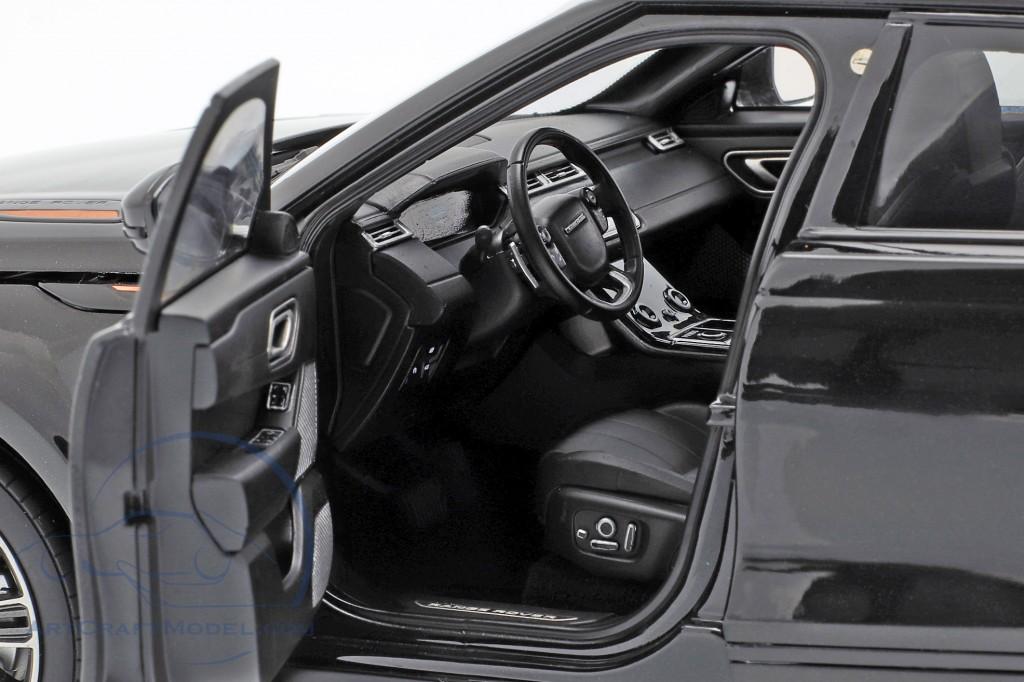 Land Rover Range Rover Velar built in 2018 black